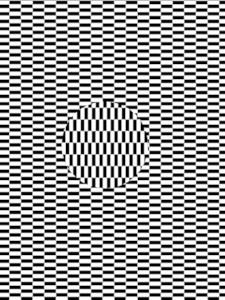 Bewegt sich da was? Eine optische Bewegungsillusion
