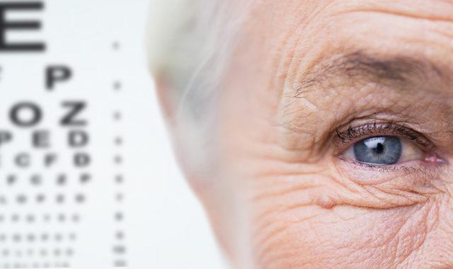 Studie zum Sehvermögen von Senioren